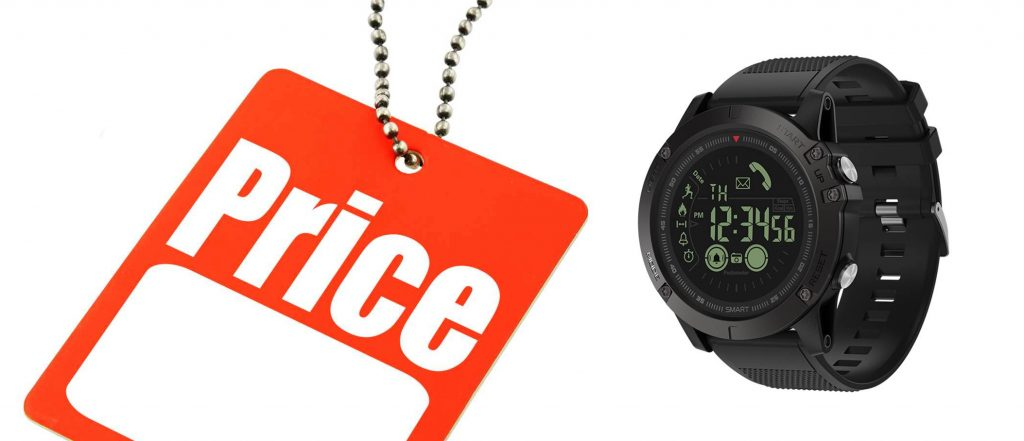 T1 Tact Watch Price Tag